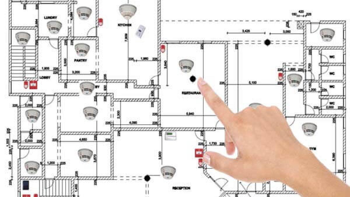 Tuletõrje-, valvesignalisatsioonide kujundamine. CCTV süsteemid